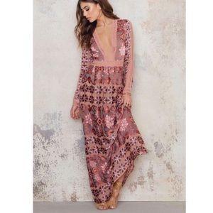 For Love & Lemons Maxi Juliet Dress